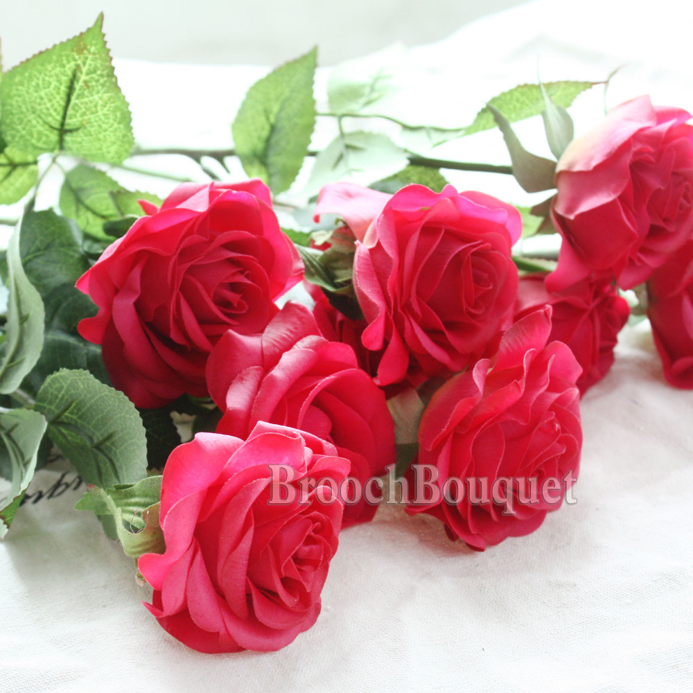 Artificial nursery 8pcs touch real latex rose silk artificial 8pcs touch real latex rose silk artificial flowers mightylinksfo