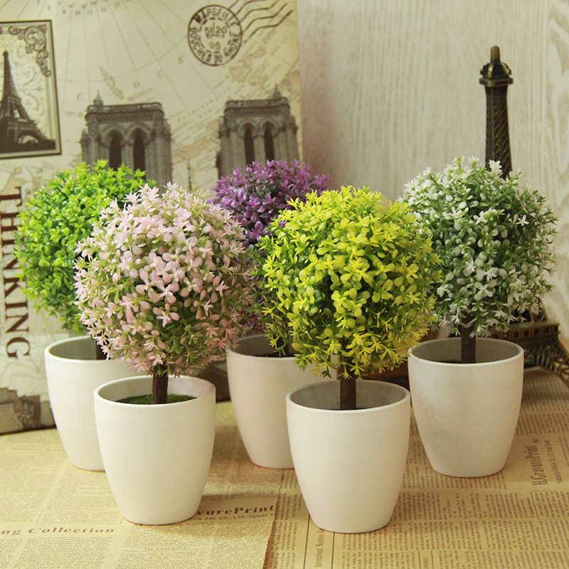 Artificial Topiary Tree Ball Plants